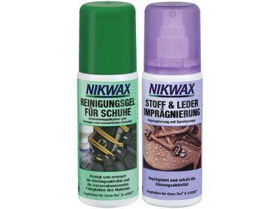 Nikwax Reinigungsgel für Schuhe & Stoff & Leder Imprägnierung - 2x125 ml Set