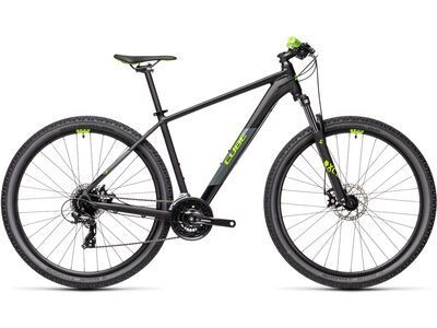 Cube Aim 29 2021, black´n´green - Mountainbike