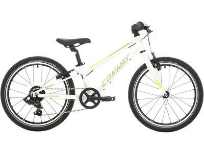 Conway MS 200 Rigid 2020, white/green - Kinderfahrrad