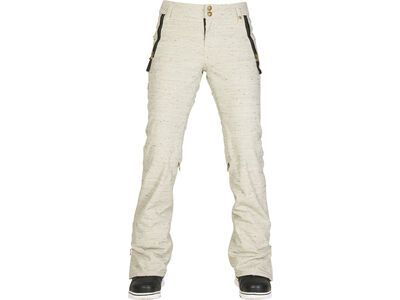 686 Womens After Dark Pant, ivory lattice - Snowboardhose