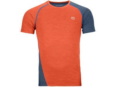 Ortovox 120 Cool Tec Fast Upward T-Shirt M desert orange blend