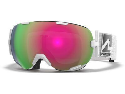 Marker Projector+ inkl. WS, white/Lens: pink plasma mirror - Skibrille