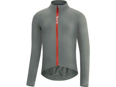 Gore Wear C5 Thermo Trikot lab gray/fireball