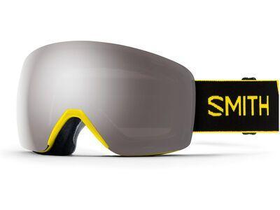 Smith Skyline, street yellow/Lens: cp sun platinum mir - Skibrille