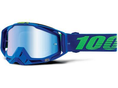 100% Racecraft inkl. WS, dreamflow/Lens: mirror blue - MX Brille