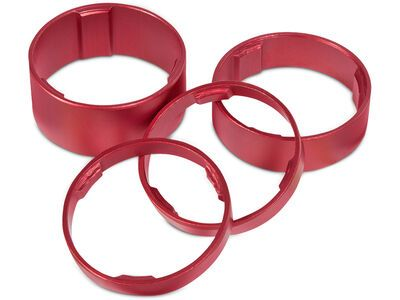 Cube RFR Spacer - Set, red