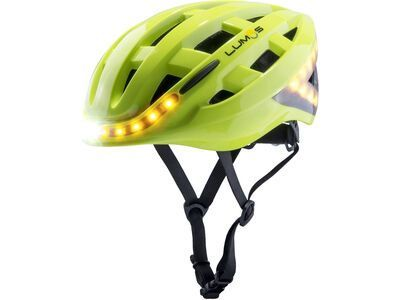 Lumos Kickstart Helmet with MIPS (refreshed) electric lime