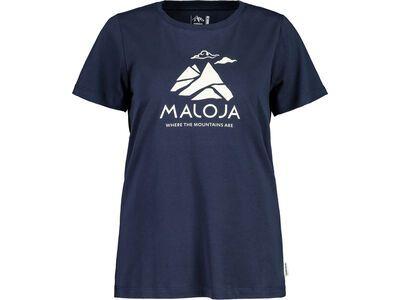 Maloja TurettaM., night sky - T-Shirt