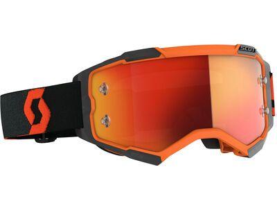 Scott Fury Goggle Orange Chrome Works orange/black