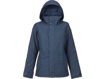 Burton Womens Jet Set Jacket, mood indigo fleck - Snowboardjacke