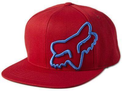 Fox Headers Snapback Hat red