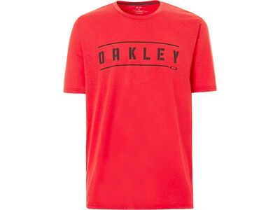 Oakley O-Double Stack Tee, red line - T-Shirt