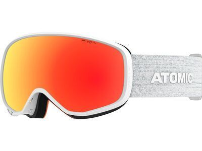 Atomic Count S 360° HD, white/Lens: red hd - Skibrille