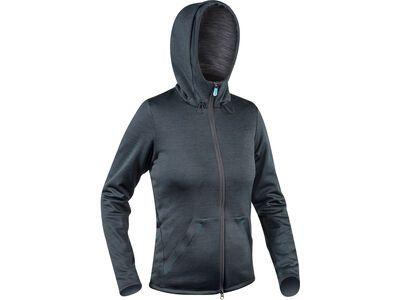 Komperdell Full Zip Hoody Womens, schwarz/mint - Protektorenjacke