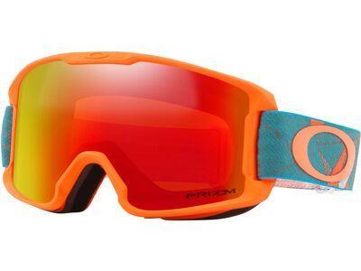Oakley Line Miner Youth Prizm, orange sea/Lens: prizm torch iridium - Skibrille