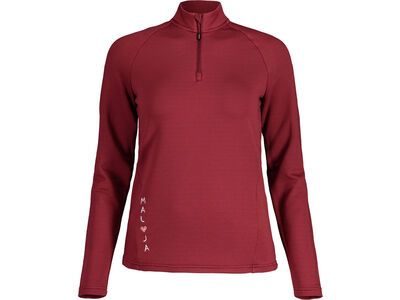 Maloja NaspaeM., red monk - Fleecepullover