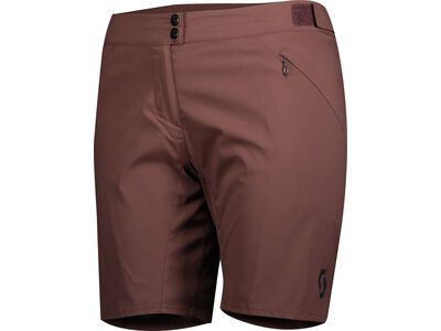 Scott Endurance LS/Fit w/Pad Women's Shorts, maroon red - Radhose