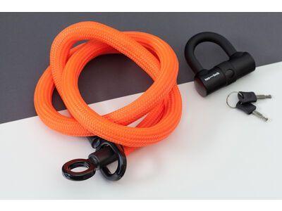 Tex-Lock Tex-Lock Eyelet L 160 cm inkl. U-Lock orange