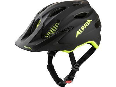 Alpina Carapax Jr. Flash black-neon yellow matt