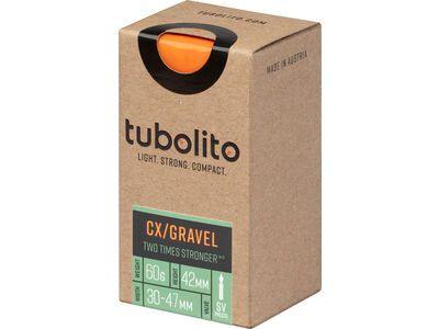 Tubolito Tubo CX/Gravel 42 mm - 700C/650B x 30-47C orange