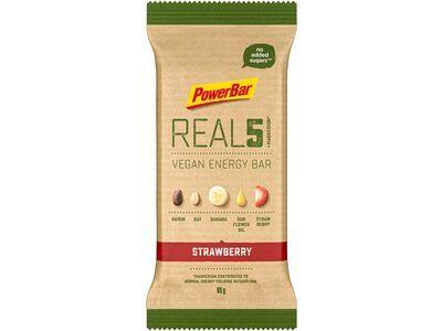 PowerBar Real5 Vegan Energy Bar - Strawberry Raisin