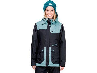 Horsefeathers Babette Jacket, mint neps - Snowboardjacke