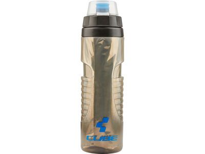 Cube Trinkflasche Thermo, black´n´grey´n´blue