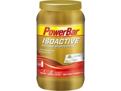 PowerBar Isoactive - Red Fruit Punch 1320 g - Getränkepulver