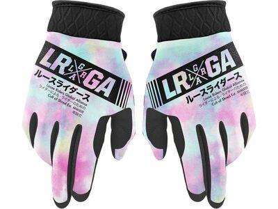 Loose Riders Freeride Gloves Tie Dye Pastel multi color