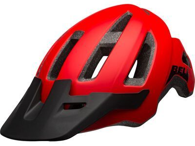 Bell Nomad, matte red/black
