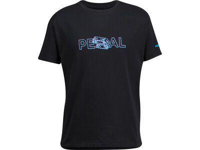 Pearl Izumi Junior Graphic T black 3d pedal
