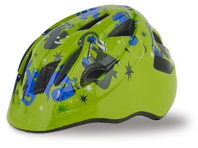 Specialized Mio, green/blue Dinos - Fahrradhelm