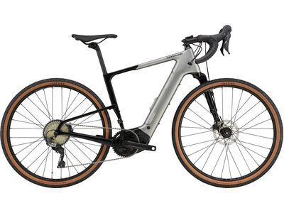 Cannondale Topstone Neo Carbon 3 Lefty 2021, grey - E-Bike