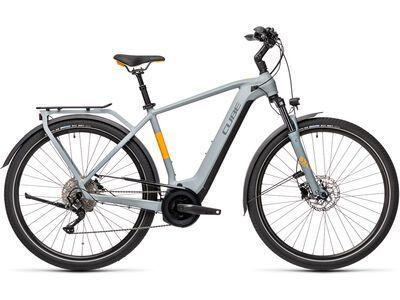 Cube Touring Hybrid Pro 625 2021, grey´n´orange - E-Bike