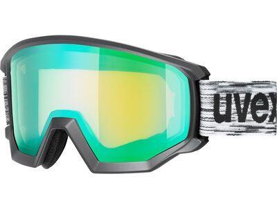 uvex athletic FM mirror green black mat