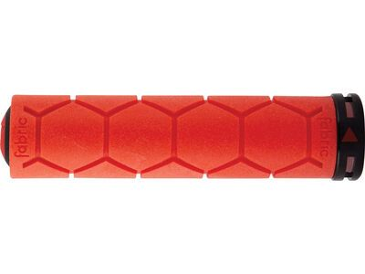 Fabric Silicon Lock On Grip, red - Griffe