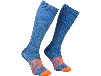 Ortovox Tour Compression Long Socks M safety blue