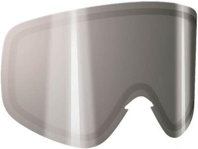 POC Iris Double Lens, clear/silver mirror - Wechselscheibe