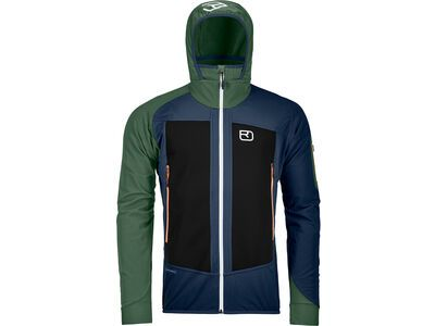Ortovox Merino Naturtec Light Col Becchei Jacket M blue lake