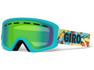 Giro Rev, sweet tooth/Lens: loden green - Skibrille
