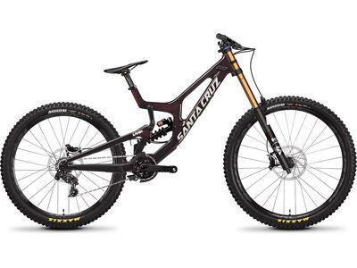 Santa Cruz V10 CC X01 MX oxblood 2021