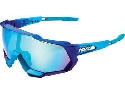 100% Speedtrap - Blue Topaz ML Mirror into the fade