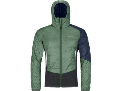 Ortovox Swisswool Piz Zupo Jacket M, green forest - Thermojacke