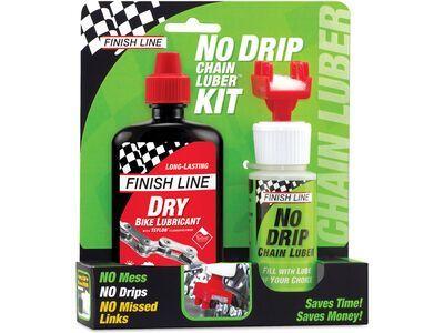 Finish Line No Drip Chain Luber Kit Dry Lube - 120 ml