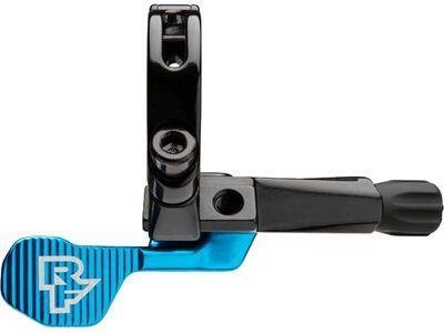 Race Face Turbine R 1x Seatpost Lever - Auslösehebel, blue