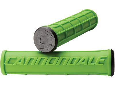 Cannondale Logo Silicone Grips, green - Griffe