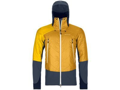 Ortovox Swisswool Light Tec Piz Palü Jacket M, yellowstone - Thermojacke