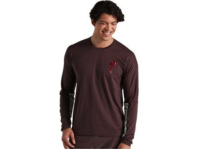 Specialized Trail Air Longsleeve Jersey cast umber