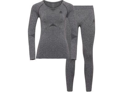 Odlo Ladies Performance Evolution Set, grey melange - Unterwäsche-Set