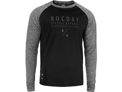 Rocday Manual Jersey black / melange